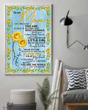 Special gift for MOM - DAUGHTER 11x17 Poster lifestyle-poster-1