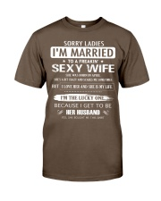 Sorry ladies - I'm married - APRIL Classic T-Shirt tile