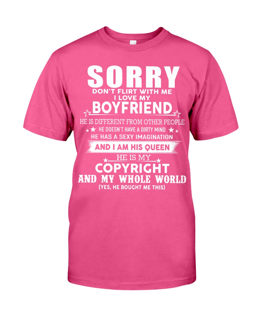 The perfect gift for your girlfriend - A00 Classic T-Shirt