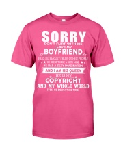The perfect gift for your girlfriend - A00 Classic T-Shirt front
