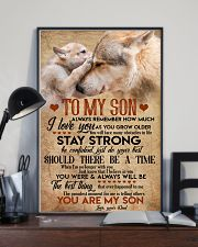 Special gift for son - presents to him 11x17 Poster lifestyle-poster-2