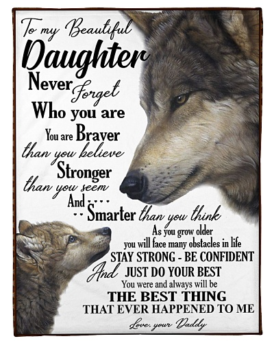To my daughter never forget who you are