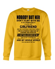 Perfect gift for your boyfriend-nobody but you-A00 Crewneck Sweatshirt thumbnail