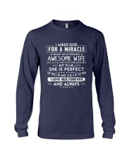 Valentine gift for husband idea - C00 Long Sleeve Tee tile