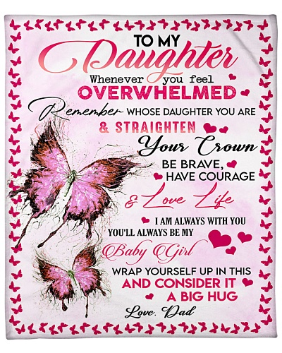 Special blanket for daughter - Chad