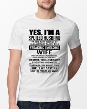 I'm a lucky man W - D0 Classic T-Shirt lifestyle-mens-crewneck-front-13