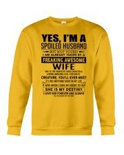 I'm a lucky man W - D0 Crewneck Sweatshirt thumbnail