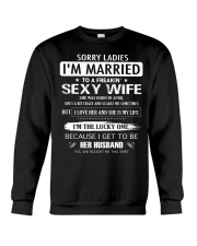 Sorry ladies - I'm married - APRIL Crewneck Sweatshirt thumbnail
