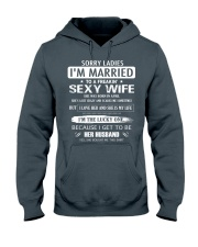 Sorry ladies - I'm married - APRIL Hooded Sweatshirt thumbnail