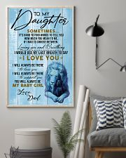 DAD TO  DAUGHTER nok00 11x17 Poster lifestyle-poster-1