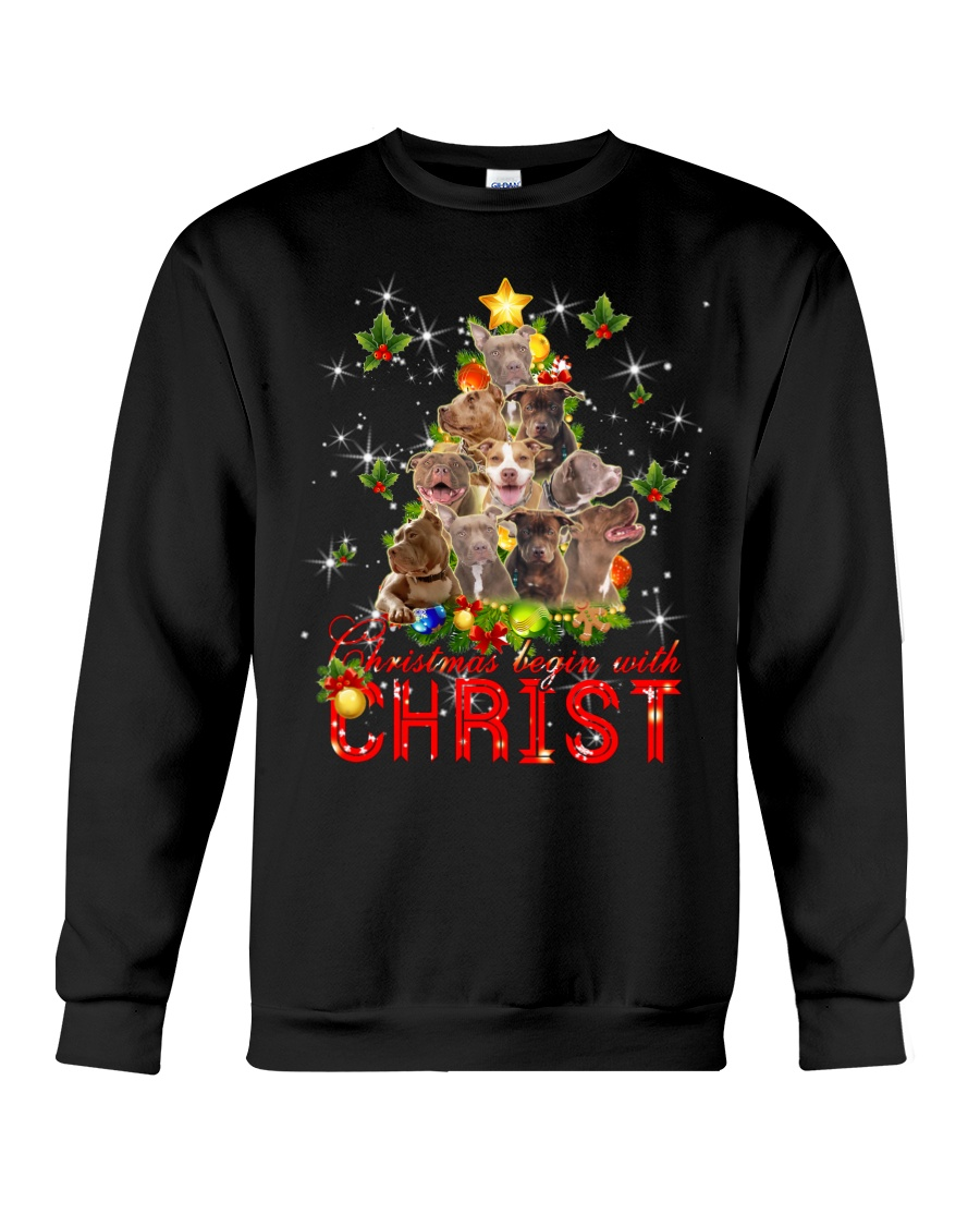 This is the best sweater for Christmas - D Crewneck Sweatshirt