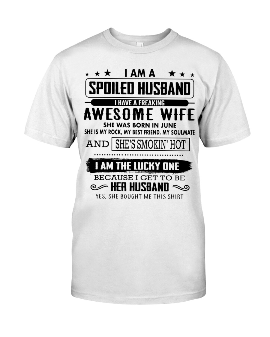 Perfect gift for your Husband - 6 Classic T-Shirt