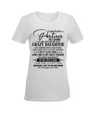 The perfect gift for MOM  D Ladies T-Shirt women-premium-crewneck-shirt-front