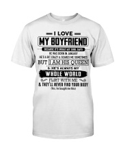 perfect gift for your girlfriend nok01 Classic T-Shirt front