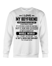 perfect gift for your girlfriend nok01 Crewneck Sweatshirt thumbnail