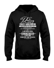 I'M DATING TO A FREAKING CRAZY GRIRLFRIEND D1 Hooded Sweatshirt front