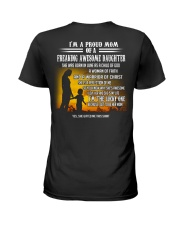 Mother - T06 Daughter Ladies T-Shirt back