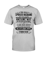 Perfect gift for husband H12 Classic T-Shirt front