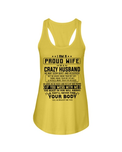 I AM A PROUD WIFE OF A CRAZY HUSBAND S-0