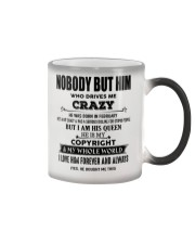 Perfect gift for loved one- Nobody but you - 02 Color Changing Mug thumbnail