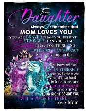 """Special gift for your Daughter Small Fleece Blanket - 30"""" x 40"""" front"""