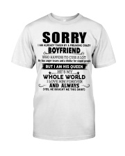 Perfect gift for your girlfriend  Classic T-Shirt front