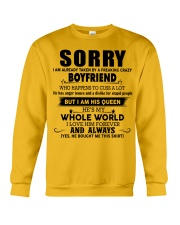 Perfect gift for your girlfriend  Crewneck Sweatshirt thumbnail