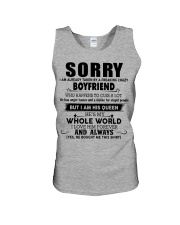 Perfect gift for your girlfriend  Unisex Tank thumbnail
