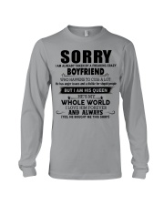 Perfect gift for your girlfriend  Long Sleeve Tee thumbnail