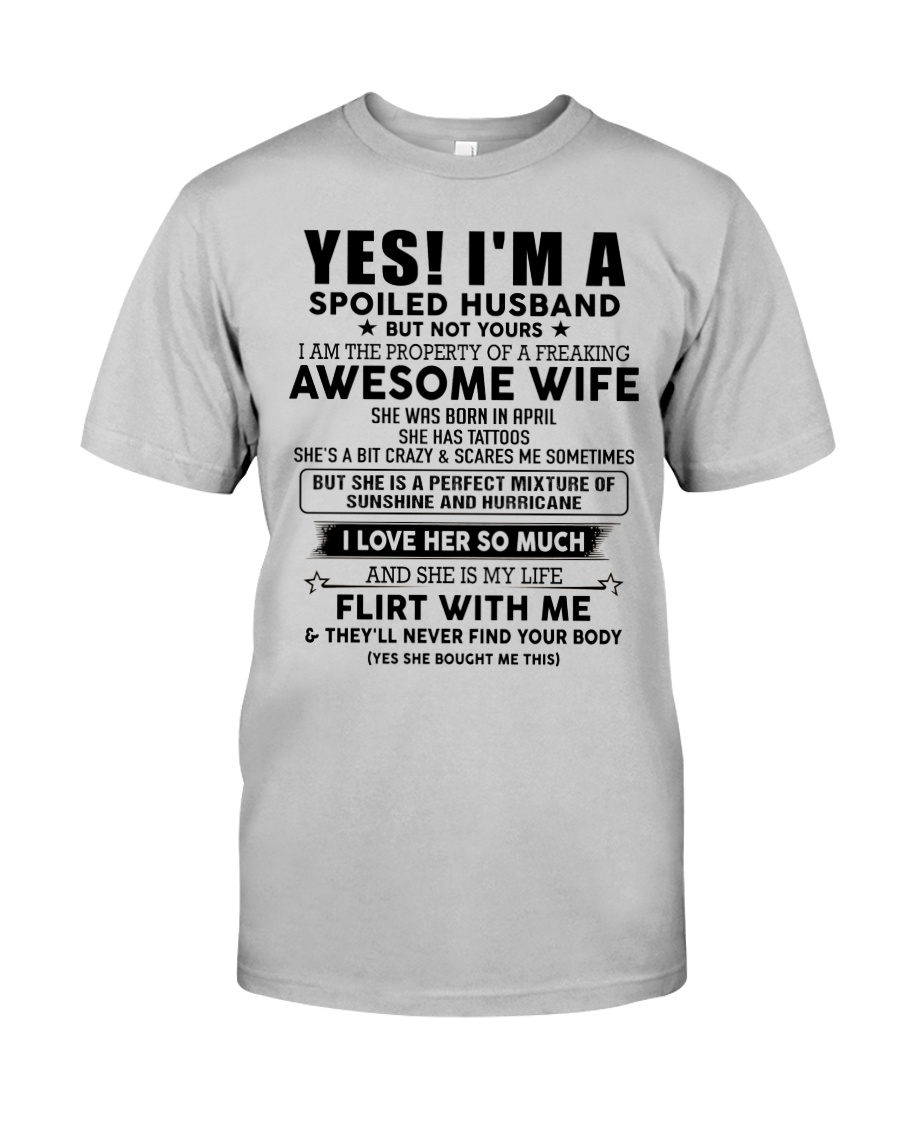 Perfect gift for husband AH04 tattoos Classic T-Shirt