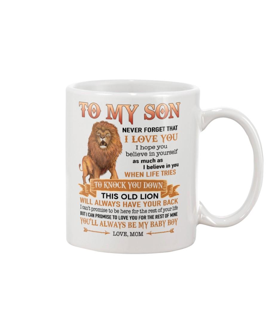 Special Gift For Son - Mom Love You Unite116 Mug
