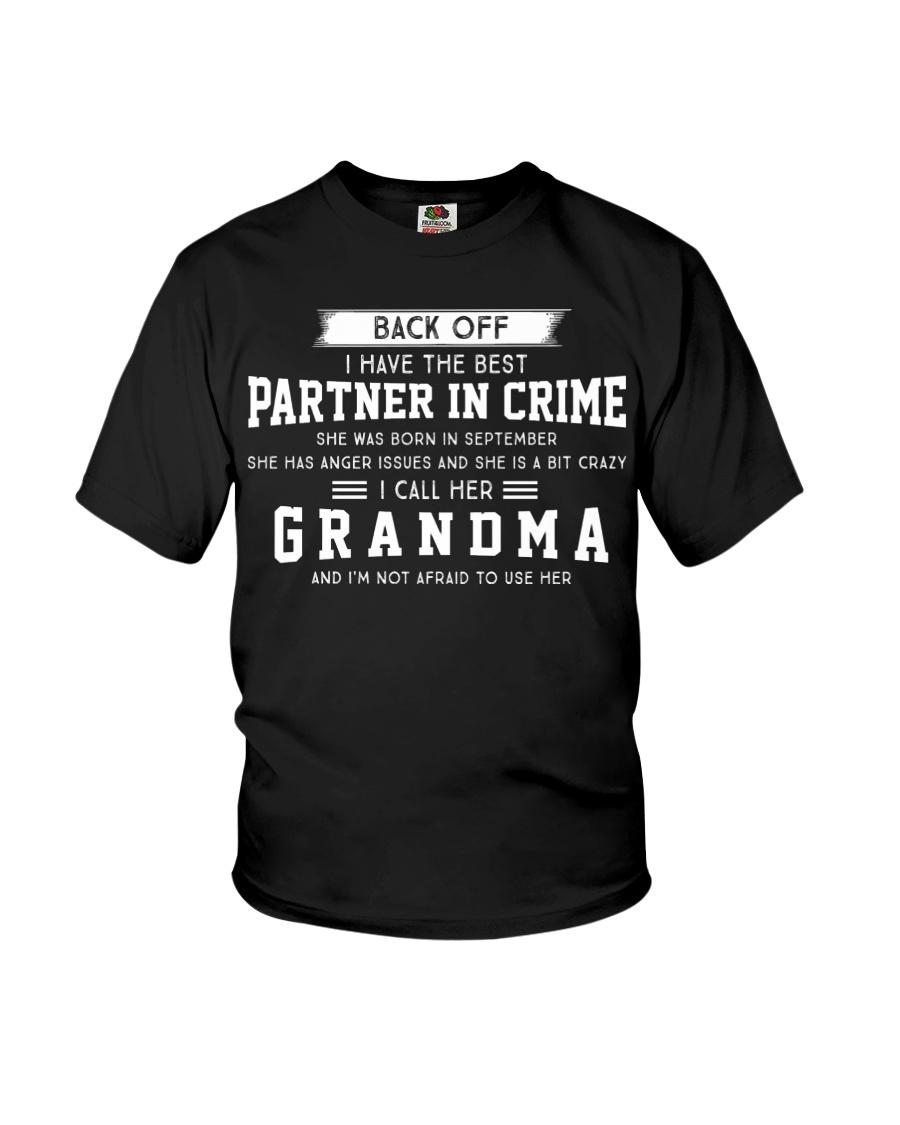 I LOVE MY GRANDMA - SEPTEMBER Youth T-Shirt