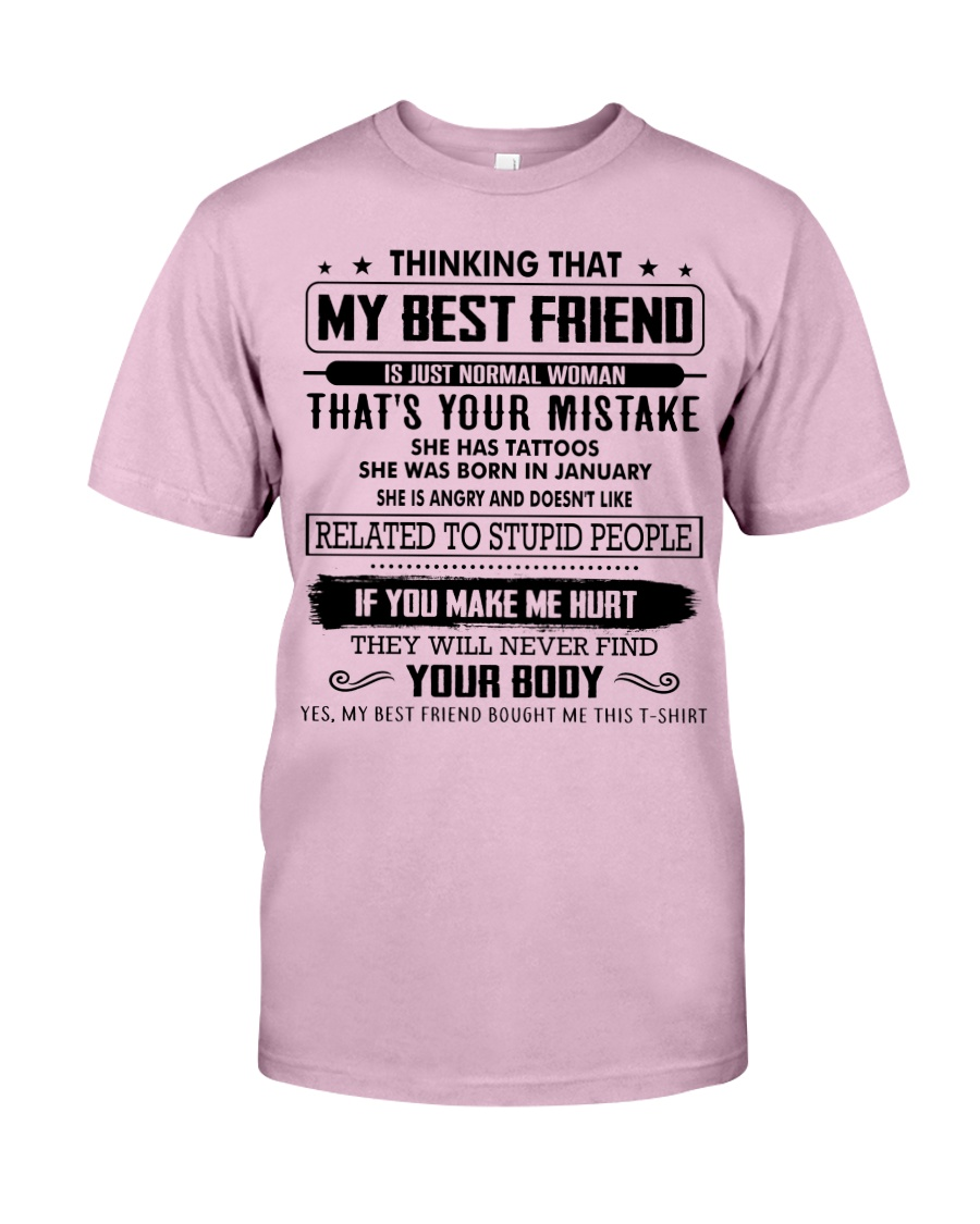 Perfect Gift for Friend X1 Classic T-Shirt