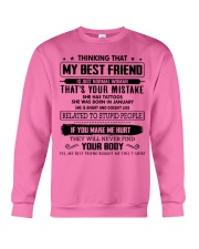 Perfect Gift for Friend X1 Crewneck Sweatshirt thumbnail