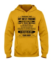 Perfect Gift for Friend X1 Hooded Sweatshirt thumbnail