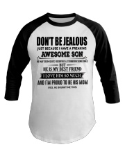 Don't be Jealous - I have an awesome Son-  00 Baseball Tee thumbnail