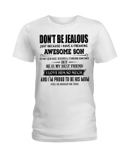 Don't be Jealous - I have an awesome Son-  00 Ladies T-Shirt thumbnail
