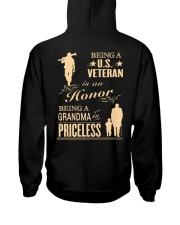 Being a US Veteran is an Honor Hooded Sweatshirt thumbnail
