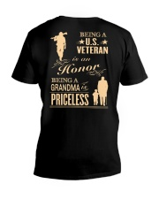 Being a US Veteran is an Honor V-Neck T-Shirt thumbnail