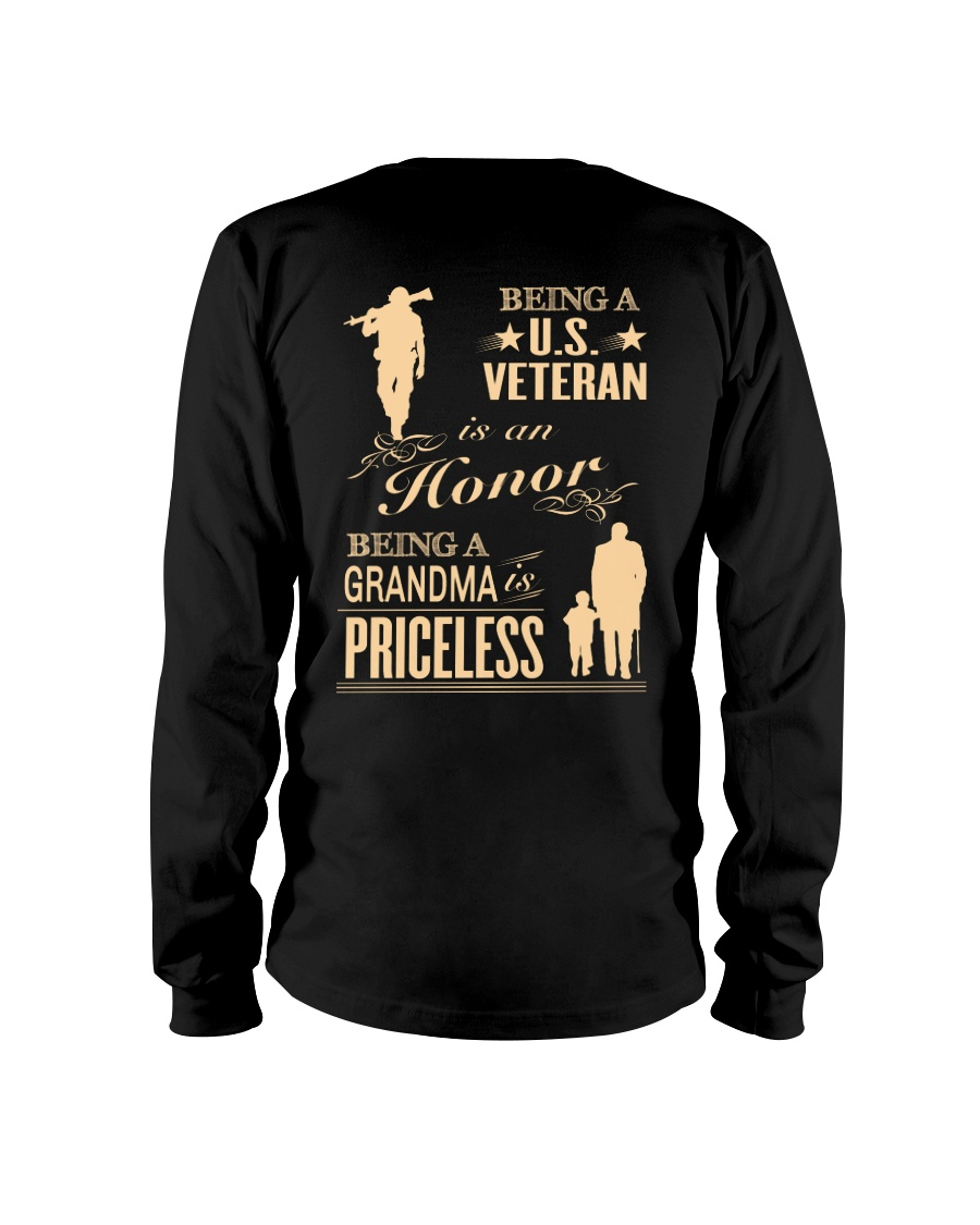 Being a US Veteran is an Honor Long Sleeve Tee