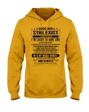 GOOD MEN 05 Hooded Sweatshirt thumbnail