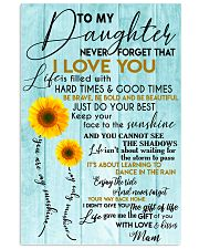 Perfect gifts for Daughter- Poster 11x17 Poster front