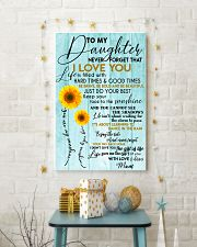 Perfect gifts for Daughter- Poster 11x17 Poster lifestyle-holiday-poster-3