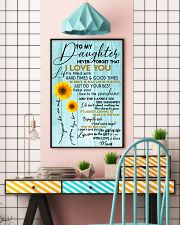 Perfect gifts for Daughter- Poster 11x17 Poster lifestyle-poster-6
