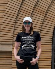 Soy la afortunada - T08 Agosto Ladies T-Shirt lifestyle-women-crewneck-front-4