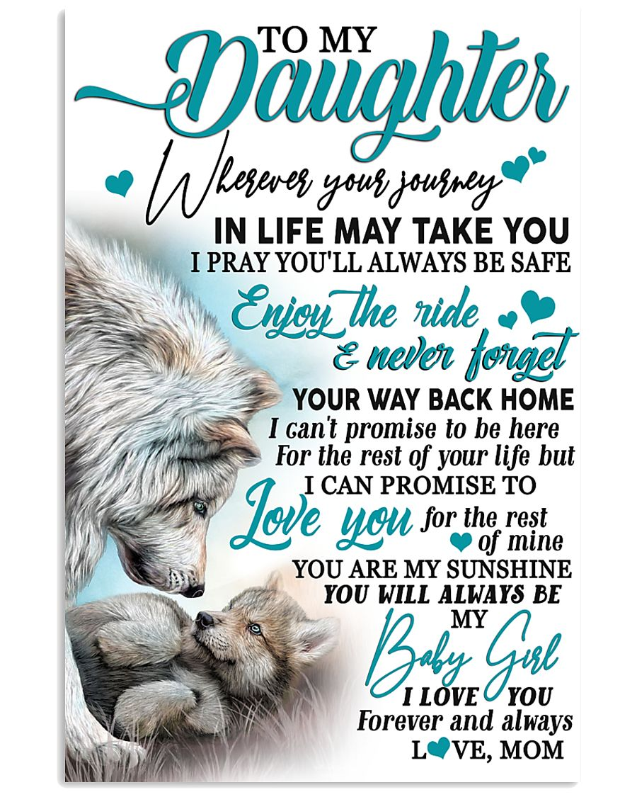 Special gift for daughter - Ct 193 11x17 Poster
