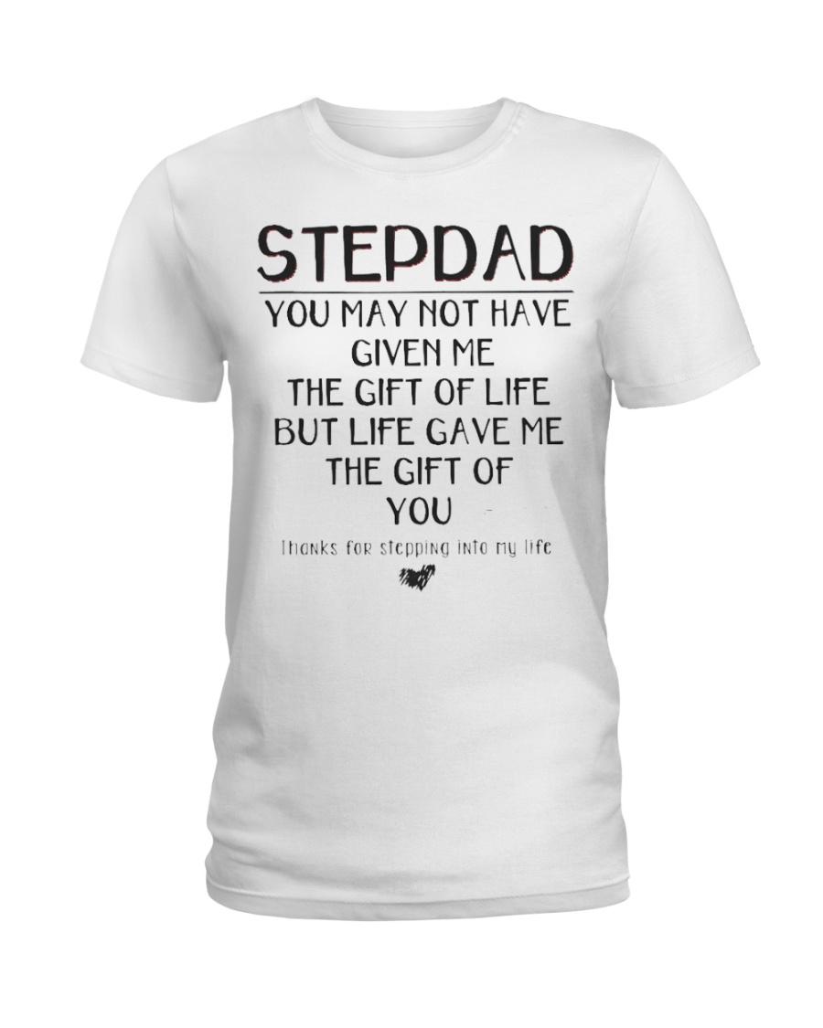 stepdad - 01 Ladies T-Shirt