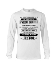 Perfect gifts for Father - November Long Sleeve Tee thumbnail