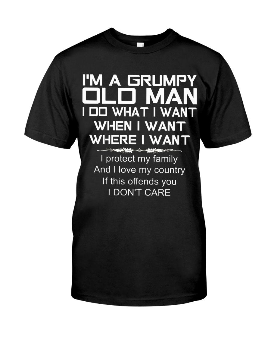 Grumpy Old Man T0 Classic T-Shirt
