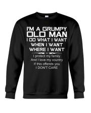 Grumpy Old Man T0 Crewneck Sweatshirt thumbnail